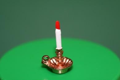 Leuchter mit Kerze