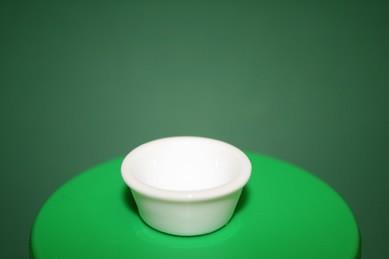 Porzellan-Schüssel, weiß