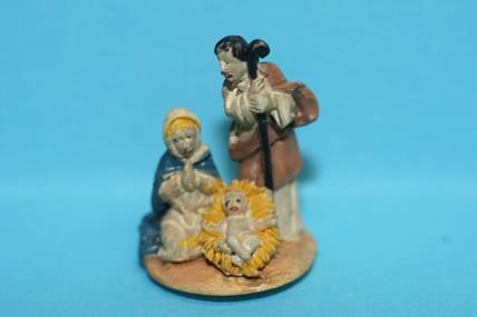 Heilige Familie, Keramik, 1:12