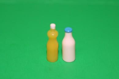 Milchflasche + Saftflasche