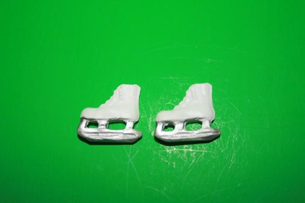 Miniatur Schlittschuhe