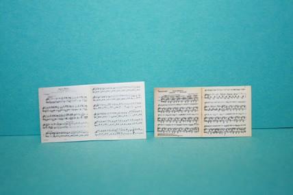 Notenblätter (Ständchen), 1:12