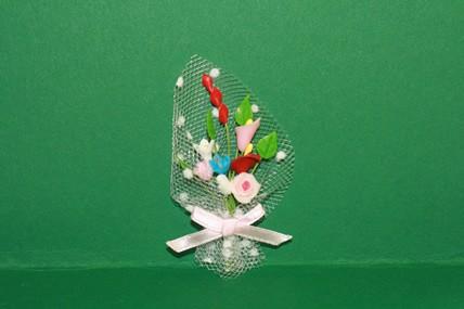 Blumen Bouquet bunt, 1:12