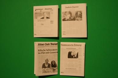 Zeitungen, Hamburger Abendblatt u.s.w. - 4 Stück