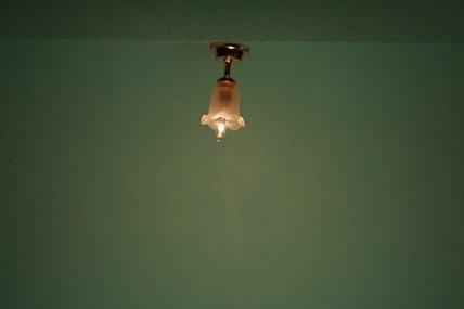 """Deckenleuchte """"Tulpe"""", 12 V., 1:12, D. ca. 1,5 cm"""