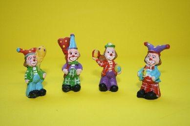Clowns - 4er Set