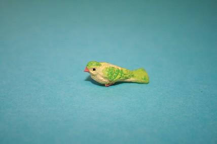 Vogel 7, gelb/grün
