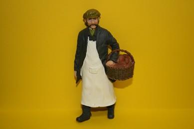 Bäcker, RESIN-Puppe, 1:12