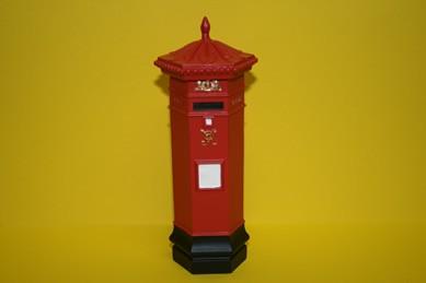 Englischer Briefkasten rot, RESIN