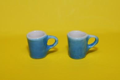 Henkel-Becher blau - 2 Stück