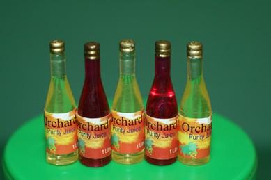 """Saftflaschen """"Orchard"""" - 5 Stück"""