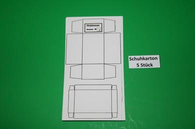 "Schuhkartons ""Robinson"" groß - 5 Stück, 1:12"