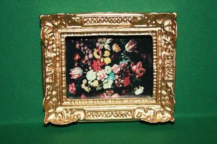 """Stilleben """"Blumen"""", Goldrahmen"""