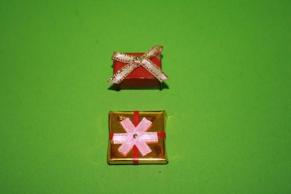 Weihnachtspäckchen 2 Stück