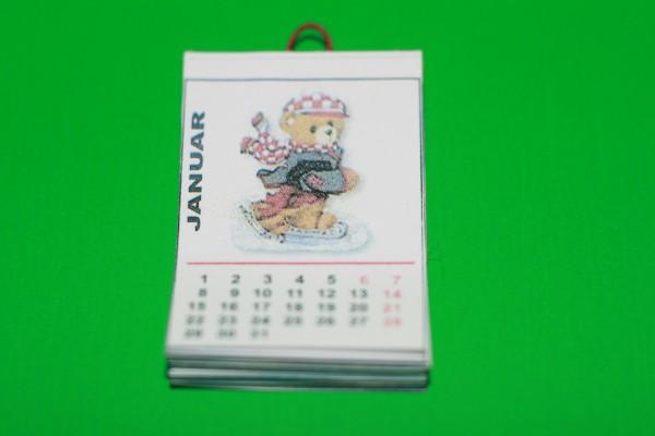 Miniatur Kalender 1:12