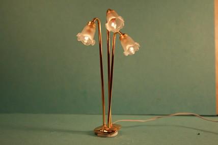 """Stehlampe """"Tulpe"""" 3er, 1:12"""