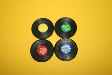Schallplatten - 4 Stück