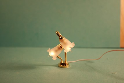 """Tischlampe """"Tulpe"""" 2er, 1:12"""
