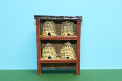 Bienenstock groß, Holz