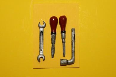 Werkzeug, 4-teilig