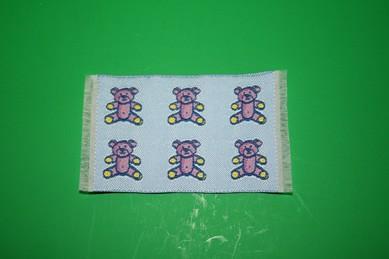 """Mini-Teppich """"Teddys"""", blau"""
