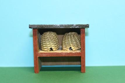 Bienenstock klein, Holz