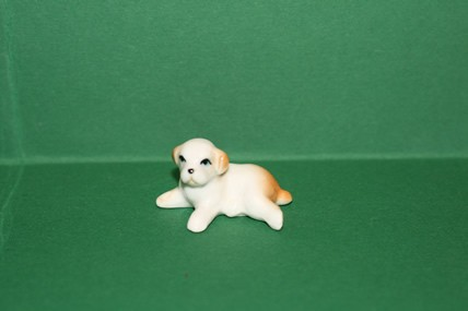 Hund 3, Porzellan