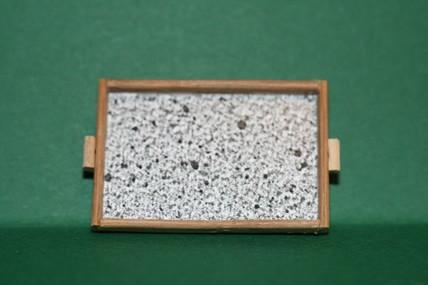Tablett, Holz, 1:12