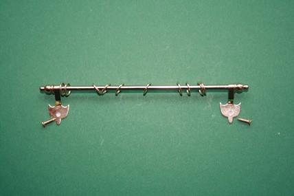 Gardinen-Stange, ausziehbar