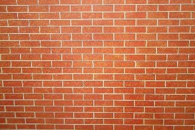 Mauertapete, rostfarben - stärkere Qualität