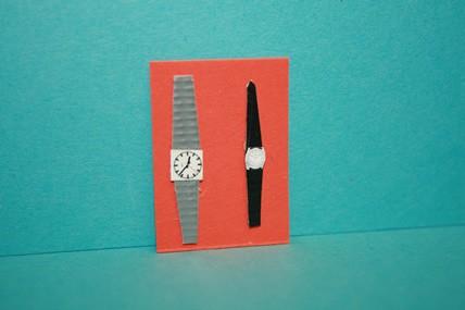 Damen- und Herrenarmbanduhren, 1:12