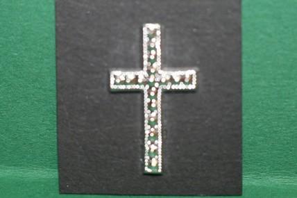 Kreuz silberfarben, 1:12
