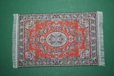 Mini-Teppich, rot