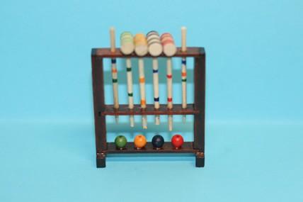 Kricket-Spiel, Holz