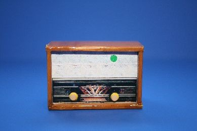 Radio, Holz lackiert