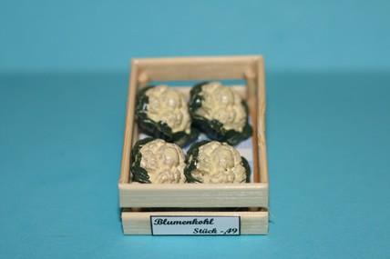 Kiste mit Blumenkohl, 1:12