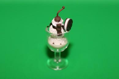 Eisbecher Vanille-Schoko