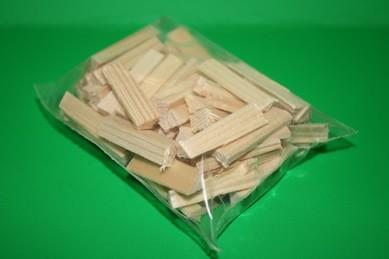 Holzscheitchen klein, Packung mit 75 Stück