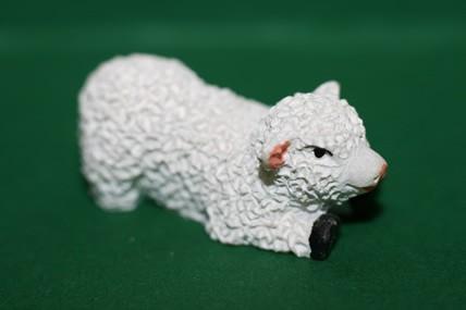 Schaf weiß, Kunstharz, versch. Ausführungen