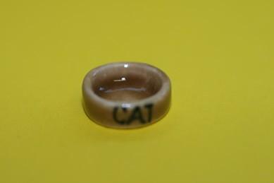 """Katzen-Fressnapf """"CAT"""""""