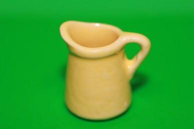 Kanne gelb, Keramik
