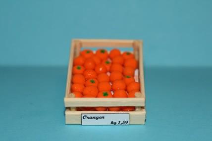 Obstkiste mit Orangen, 1:12