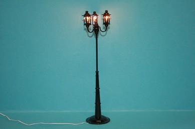 3-armige Laterne mit Beleuchtung, 12 V.