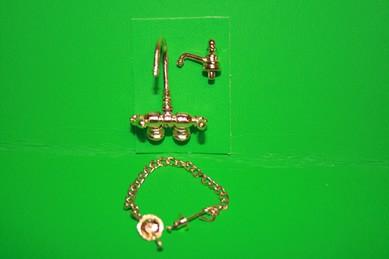 Badezimmer-Armaturen - 3-teilig