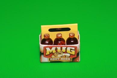 Trage-Karton mit 6 Bierflaschen
