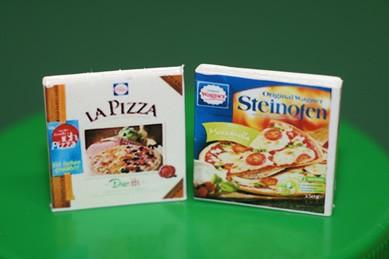 La Pizza und Steinofen Pizza, 1:12