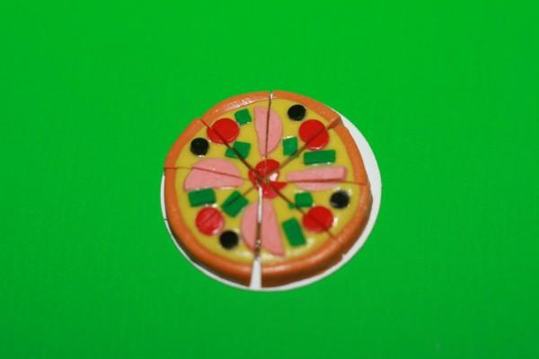 Miniatur Pizza 1:12