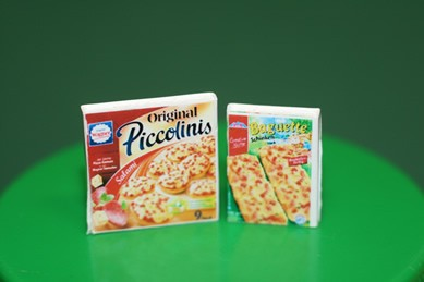 Piccolinis und Pizza-Baguette, 1:12