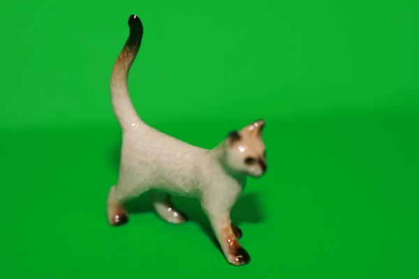 Miniatur Katze stehend 1:12