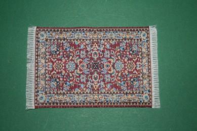 Mini-Teppich, bordeaux